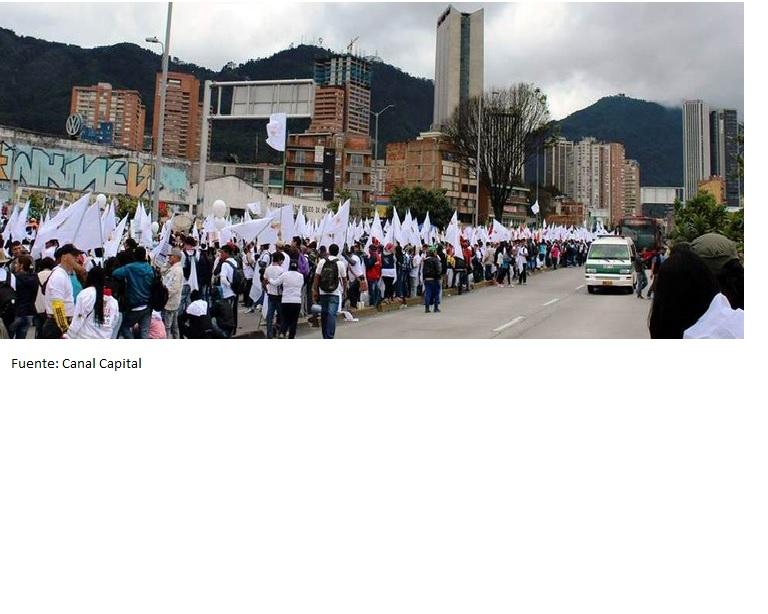 En 2014 se mantuvo respaldo de los colombianos al proceso paz