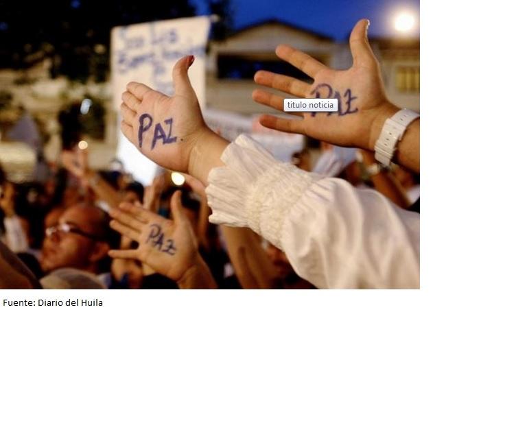 Más del 50% de los colombianos aprobaría el referendo por la paz