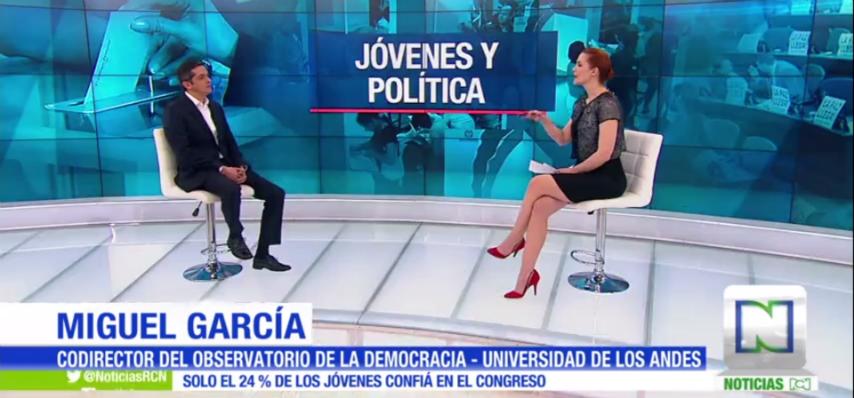 Los jóvenes y la política: Noticias RCN