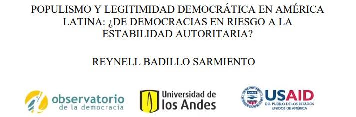 Populismo y legitimidad democrática en América Latina